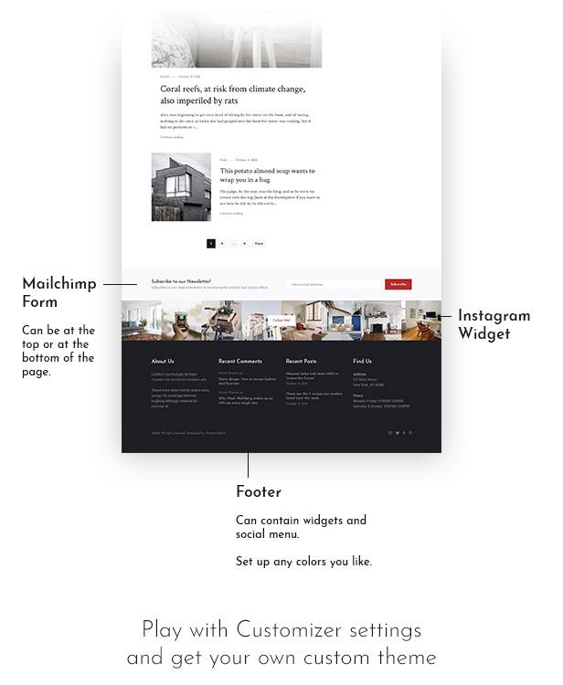 Melina - Personal Blog & Magazine WordPress Theme - 4