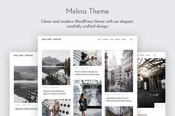 Melina - Personal Blog & Magazine WordPress Theme - 2
